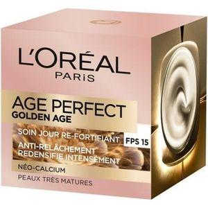 ANTI-ÂGE - ANTI-RIDE L'OREAL PARIS Perfect Golden - Soin Jour Ré-Fortif