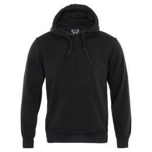 KRISP Homme Sweatshirt Pull Over A Capuche Poche Sport