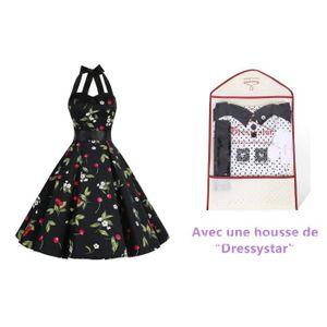 ROBE  Robe de bal Polka Vintage Dressystar pin-up à 'Au