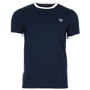 T-SHIRT Fred Perry Taped Ringer T-shirt Carbon Blue