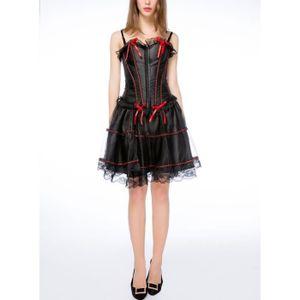 BUSTIER - CORSET Wonder Beauty® Corset Bustier Jupe Dress Fancy Dre