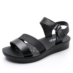 SANDALE - NU-PIEDS Mode confortable Sandale Femme Chaussure de Plage