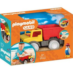 UNIVERS MINIATURE PLAYMOBIL 9142 - Sand - Camion Tombereau
