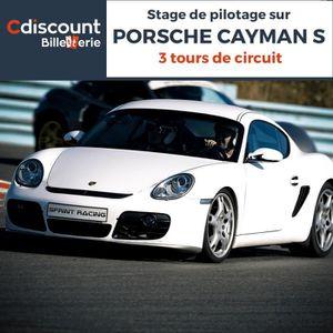Spectacle Stage pilotage sur Porsche Cayman S - 3 Tours
