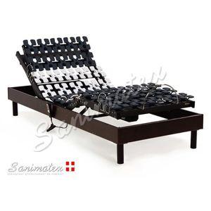 SOMMIER Lit electrique 90x200 à plots Xanadu Sanimatex