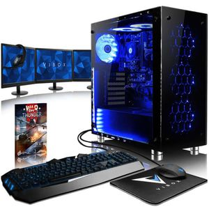 UNITÉ CENTRALE + ÉCRAN VIBOX Nebula GS680T-106 PC Gamer Ordinateur avec J