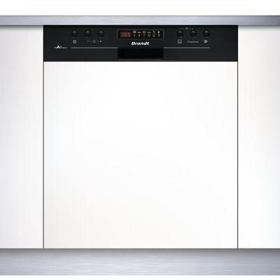 Brandt Vh15b Lave Vaisselle Encastrable 13 Couverts Silencieux 44 Db A Larg 60 Cm Bandeau Noir