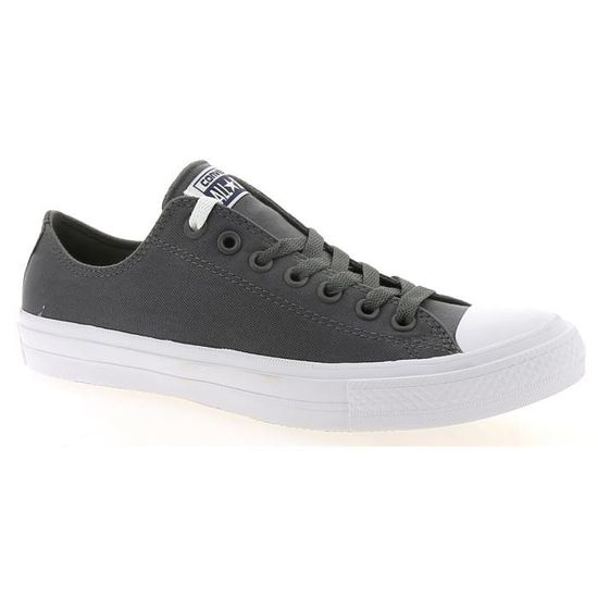 Baskets basses - CONVERSE  ALL STAR II OX Blanc Gris/blanc - Achat / Vente basket