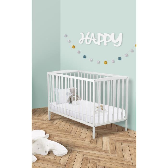 Pour 60x120 OU 70x140 cm Décoration bébé Noel NEUF Tours de lit HELLO KITTY