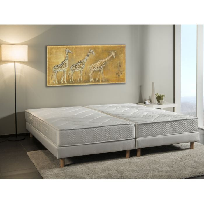 ensemble matelas sommier 200x200 finest ensemble matelas savanah et sommier volige x pieds with. Black Bedroom Furniture Sets. Home Design Ideas