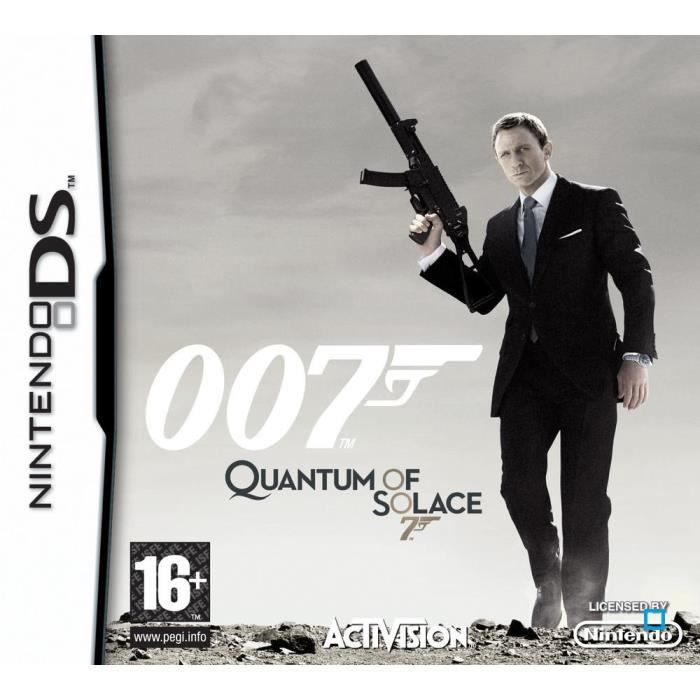 JEU DS - DSI JAMES BOND QUANTUM OF SOLACE / JEU CONSOLE NINTEND