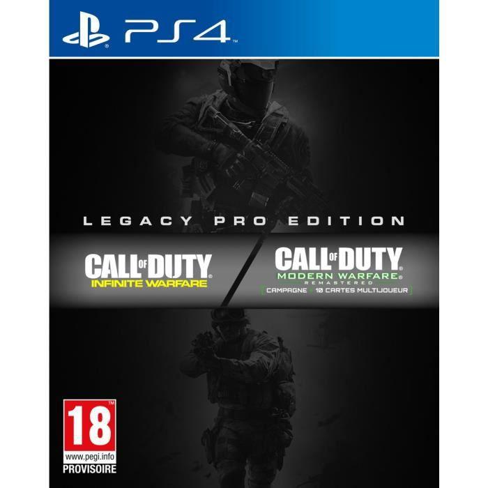 JEU PS4 Call of Duty: Infinite Warfare Edition Legacy Pro