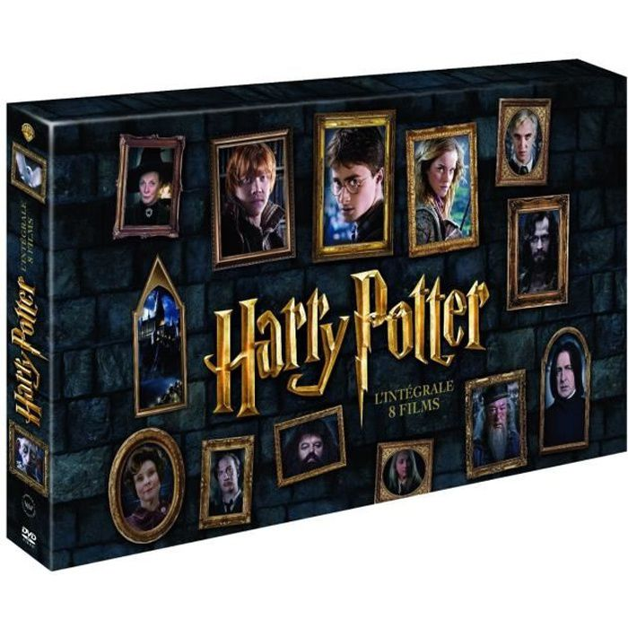 coffret dvd harry potter 1 7b 2016 8dvd en dvd film pas cher cdiscount. Black Bedroom Furniture Sets. Home Design Ideas