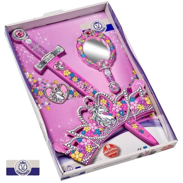 LIONTOUCH Panoplie Princesse - Déguisement Accessoires