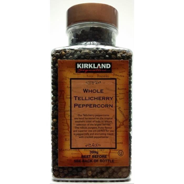 Grain de poivre - 399g - Kirkland Signature: Cuisine & Maison