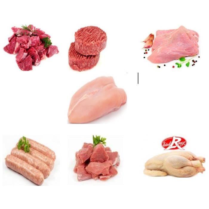 colis de viande mixte 6,5 kg