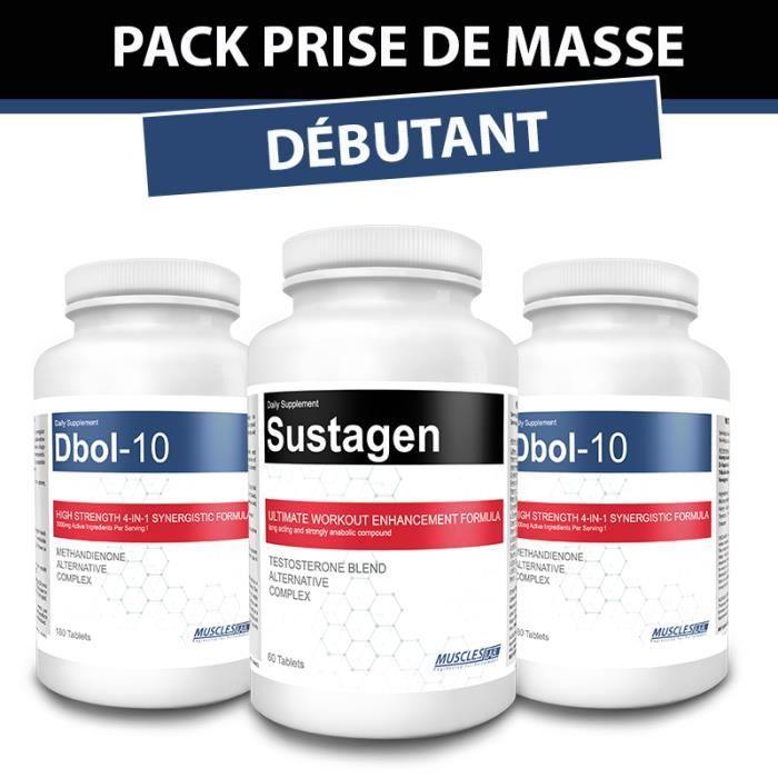 Pack Prise de Masse musculaire