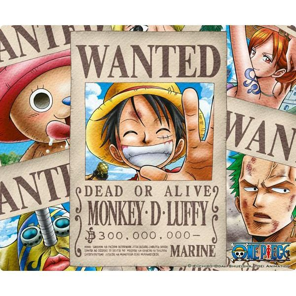 Tapis de souris One Piece Wanted Pirates Abystyle