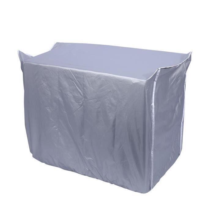 Couvercle du climatiseur extérieure imperméable anti-poussière anti-soleil anti-pluie pour la maison(n ° 2)(86 * 32 * 56cm)- My05112