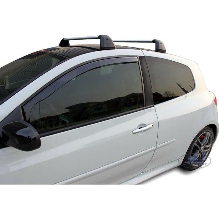 - Deflecteurs d'air Déflecteurs de vent Compatible avec RENAULT CLIO III 3 portes 2005- 2012 2pcs