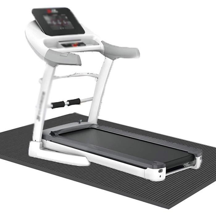 TAPIS DE COURSE Tapis d'&eacutequipement d'exercice pour &eacutequipement de Fitness sous Tapis Roulant, Tapis de Protection a140