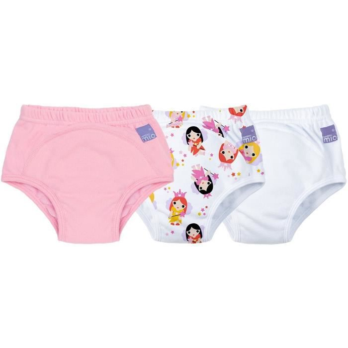 Bambino Mio - Potty - Potty Training Pants 3 Pack Fairy 2 a 3 Years culottes d'apprentissages