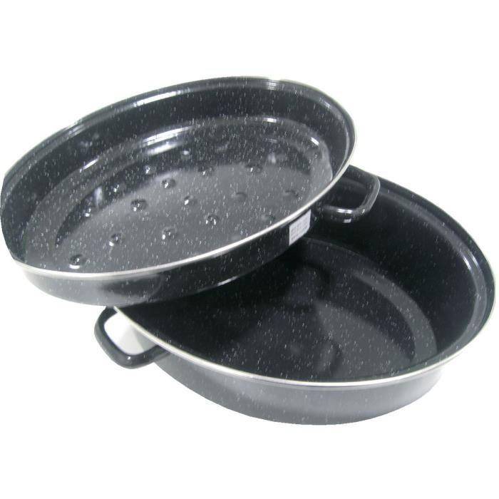 BEKA Daubière Kitchen Roc - Ø 42 cm - Noir - Tous feux dont induction