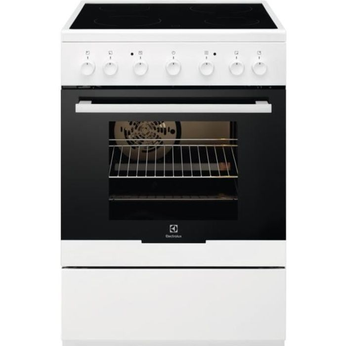 Cuisinière Vitrocéramique Electrolux EKC61360OW 54L 60cm Blanc