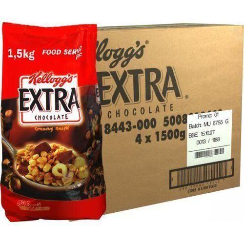 Kellogg`s Céréales Extra Chocolat/Noisettes 1.5 kg