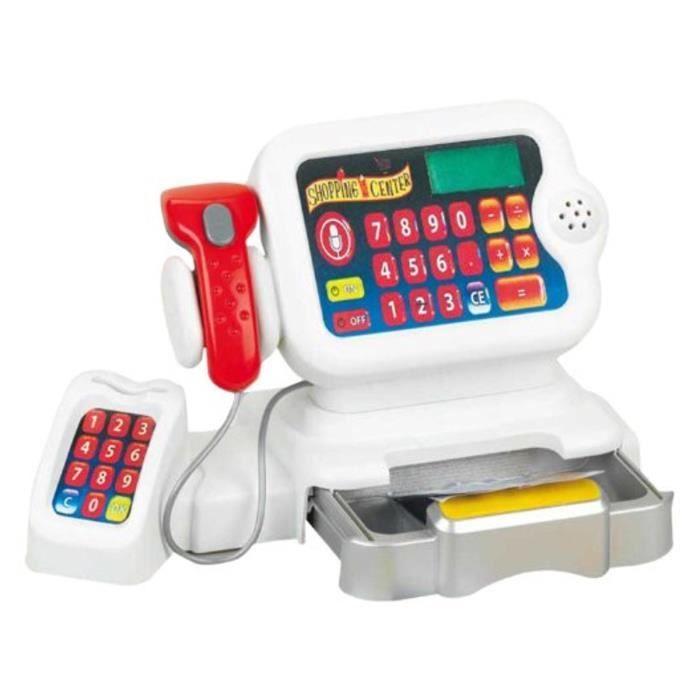 KLEIN - Caisse enregistreuse -color- avec display tactile pour Enfant
