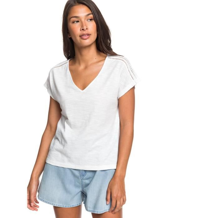 T-Shirt Starry Dream de la marque Roxy Femme en Blanc [L]