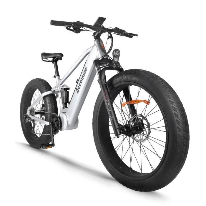 ACCOLMILE Vélo à assistance électrique 1000W avec BAFANG Moteur pédalier BBSHD et LG Batterie 48V Cellules 18654