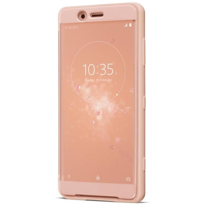 Sony Style Cover Touch XZ2 Compact Rose
