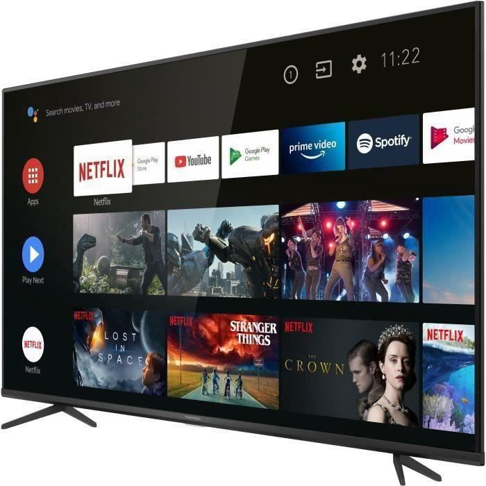 THOMSON 50UZ6420 TV LED 50'' (126cm) - UHD 4K - HDR10 - Android 9.0 - 3 X HDMI