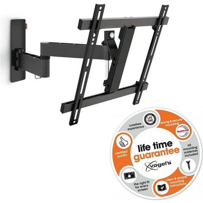 VOGEL'S WALL 2245 Support TV mural orientable inclinable 32--55- noir