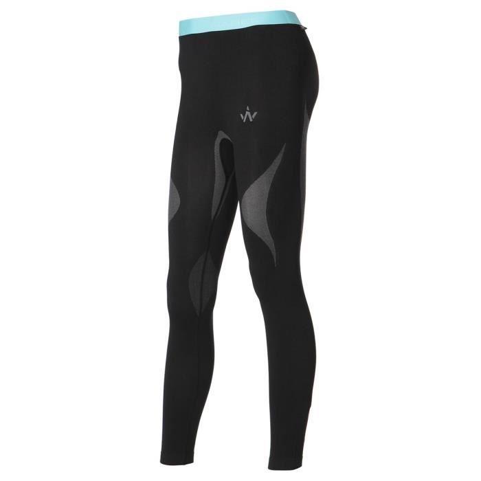 WANABEE Sous-Vêtement de randonnée Ld Tech Fit Pan - Homme - Noir et Bleu