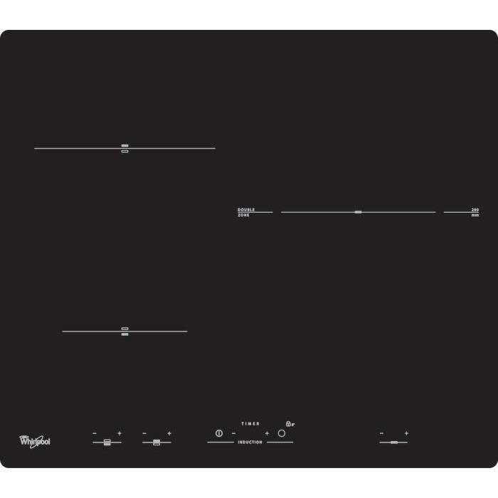 WHIRLPOOL ACM818NE plaque de cuisson - 3 zones - 7000W - Induction