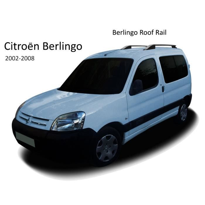 barres de toit pour citroen berlingo 2002 2008 achat vente barres de toit barres de toit. Black Bedroom Furniture Sets. Home Design Ideas