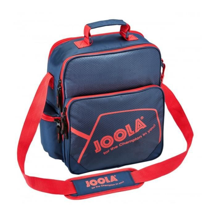 SAC DE TENNIS DE TABLE JOOLA COACH MARINE ET ROUGE