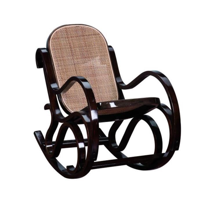 rocking chair enfant teint noyer assise et dos achat vente fauteuil multiplis cdiscount. Black Bedroom Furniture Sets. Home Design Ideas