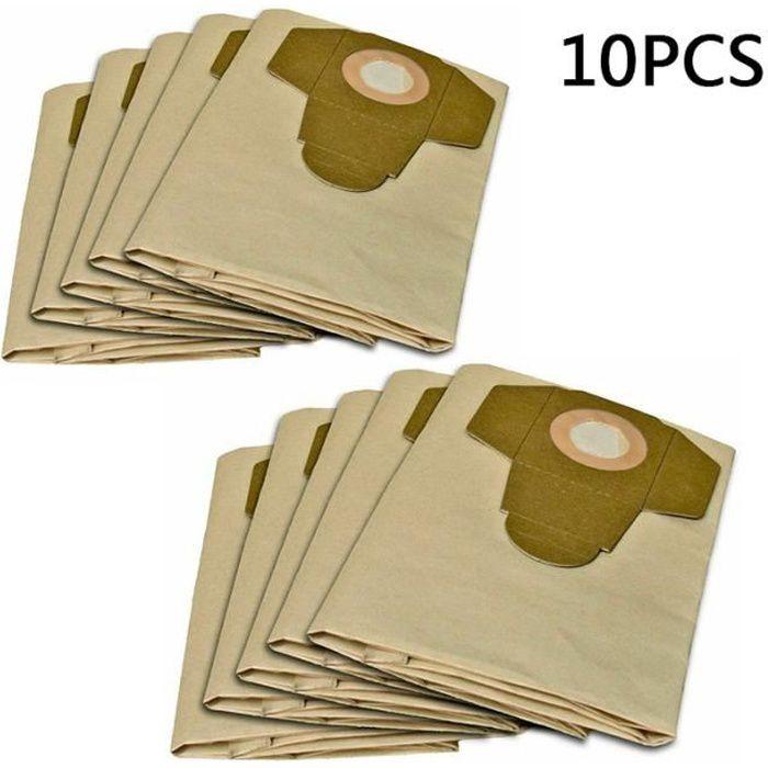 te Aspirateur Poussière Papier Sac 5 Pack Pour adapter KARCHER 201