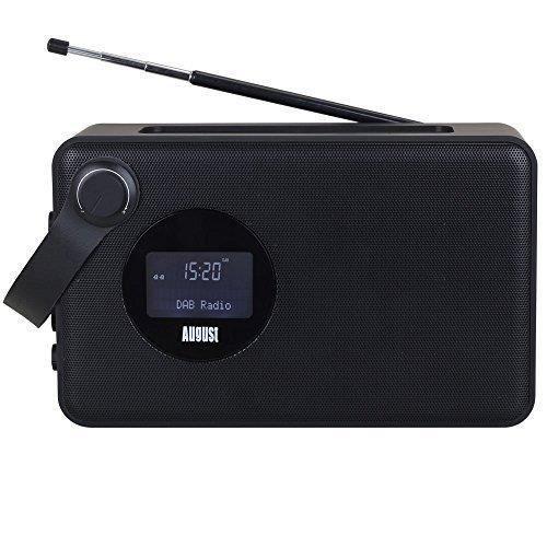 RADIO CD CASSETTE Radio Fm RNT/DAB+ Portable – August MB415 – Poste