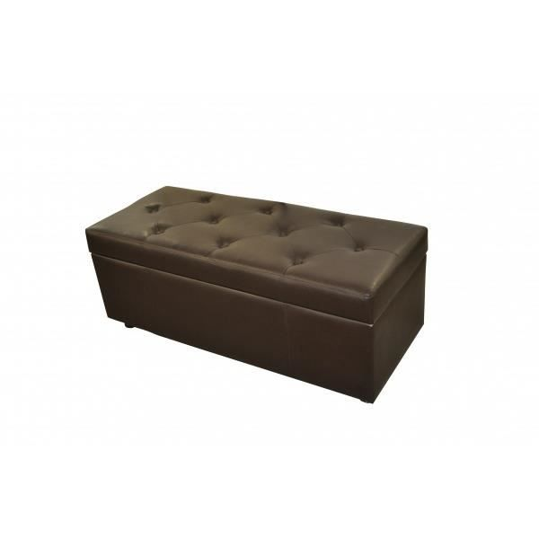 banquette bout de lit chocolat ou coffre achat vente. Black Bedroom Furniture Sets. Home Design Ideas