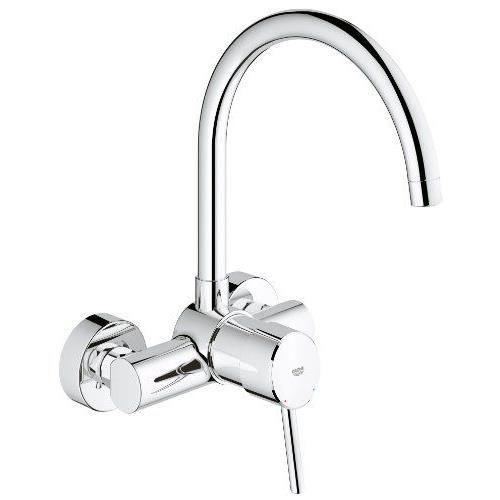 GROHE Concetto Mitigeur vier montage mural Import