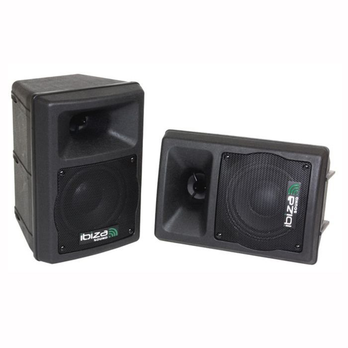 ibiza dj420 enceintes monitor 100w la paire enceinte. Black Bedroom Furniture Sets. Home Design Ideas