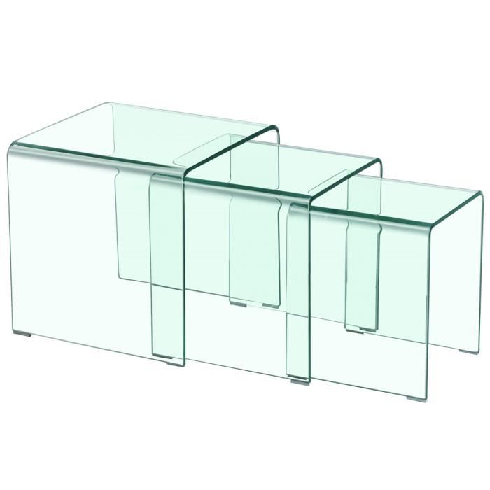 table basse transparente achat vente table basse transparente pas cher soldes d s le 10. Black Bedroom Furniture Sets. Home Design Ideas