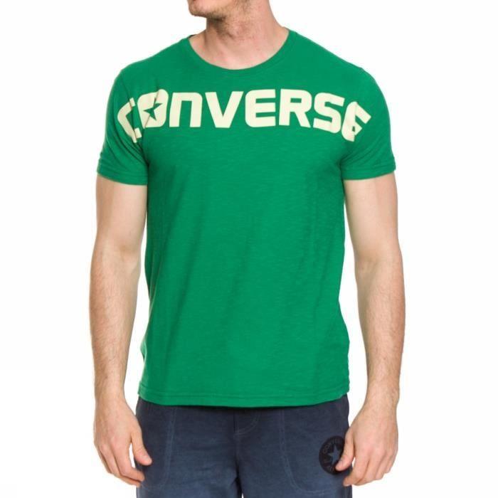 tee shirt homme converse vert