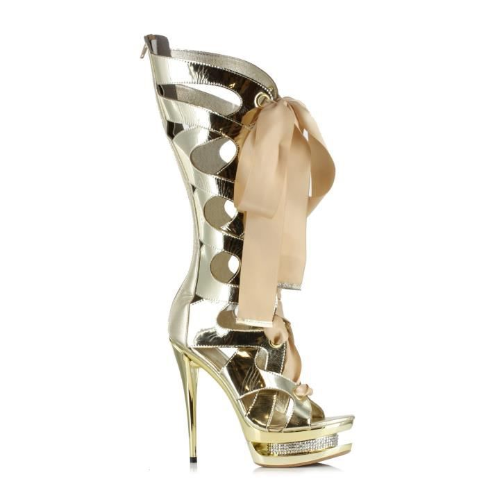 Ellie Shoes 603-teagan Platform Dress Sandal TOHJO Taille-41