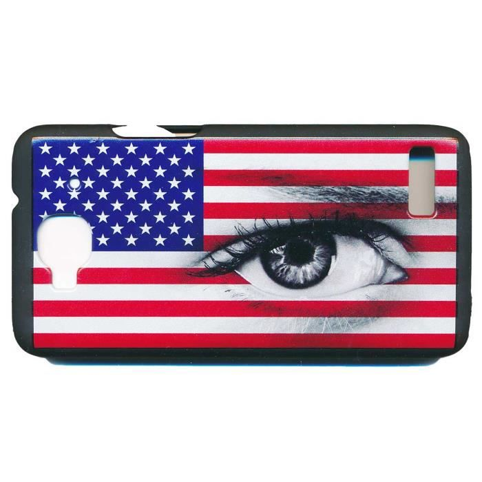 Housse coque usa pour alcatel one touch idol mini achat for Housse alcatel one touch