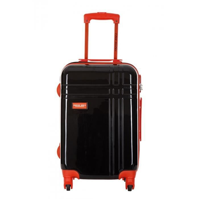 travel one valise middles noir taille m noir achat vente valise bagage 3607070674420. Black Bedroom Furniture Sets. Home Design Ideas